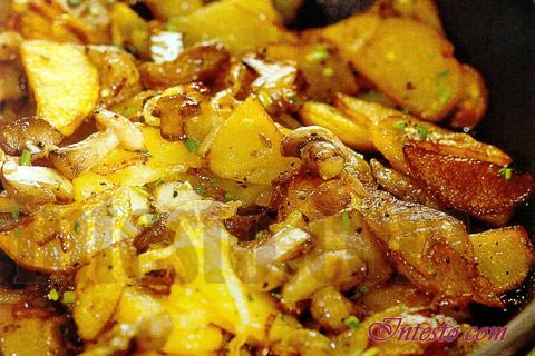 Маслята с картошкой рецепт с фото