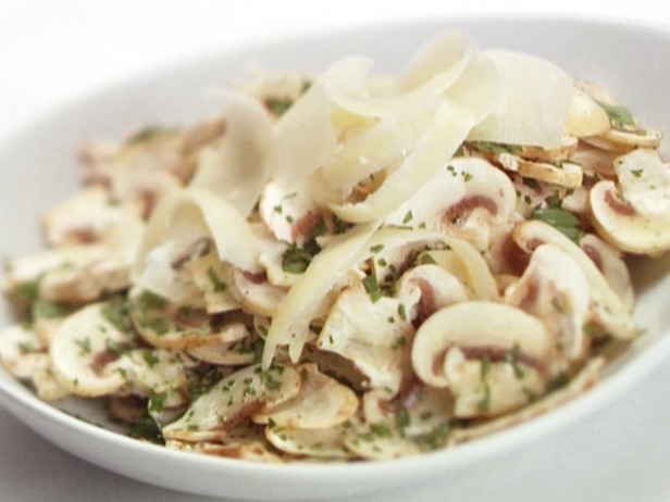 Салат с шампиньонами. Рецепт от английского шеф-повара